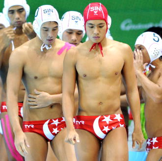 Mens Swimming Team